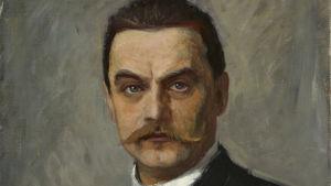 Albert Edelfelt, självporträtt