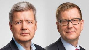 Lauri Kivinen och Atte Jääskeläinen