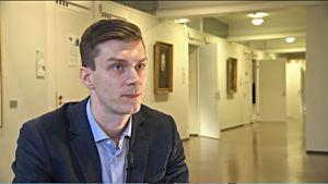 Straffrättsforskaren Dan Helenius vid Helsingfors universitet