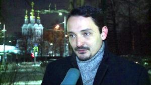 Den ryska sociologen Viktor Vachstein.