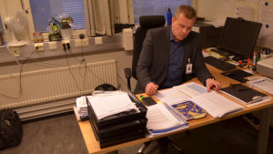 Kriminalöverkommissarie Petri Eronen.