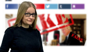 Valheenpaljastajan kirjoittaja Johanna Vehkoo
