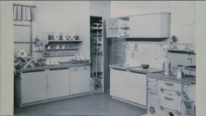 Köksinredning på 1940-talet