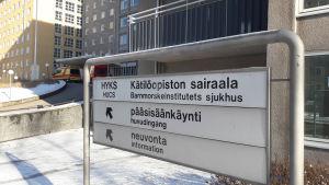 Barnmorskeinstitutets sjukhus i Helsingfors.