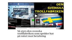 Kuvakaappaus  Eskilstuna-Kurirenin sivuilta.