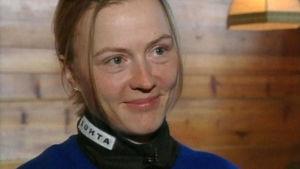 Virpi Sarasvuo (entinen Kuitunen) Urheiluruudun haastattelussa 2003