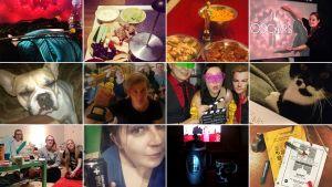 Kooste Teeman Oscar-yön 2015 katsojien lähettämistä valokuvista.