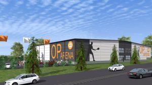 Vasa Andelsbank kommer att sponsorera den nya idrottshallen i Korsholm.