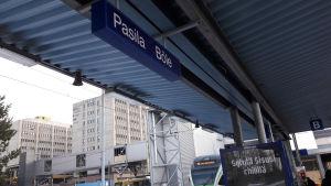 Böle tågstation.