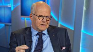 OP-gruppens chefdirektör Reijo Karhinen.
