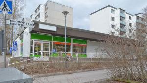 Kirstibacken i Esbo.