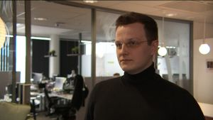 Porträtt på Perttu Mäkimartti, CDO på företaget Barona.
