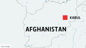 Karta Kabul, Afghanistan.