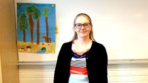 Riikka Seppälä är lärare.