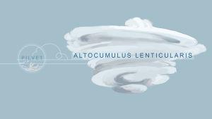 Altocumulus lenticularis -pilvi