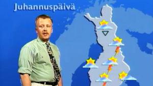 Juha Föhr ennustaa juhannussäätä.