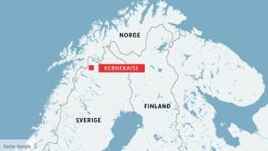 Kebnekaise i norra Sverige