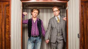 Inside No. 9 -sarjan käsikirjoittaja-näyttelijät Reece Shearsmith ja Steve Pemberton.