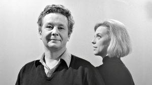 Skådespelarparet Pöysti och Ulfsson 1966.