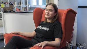 Jessica Blechingberg, nordenanvarig på Slush