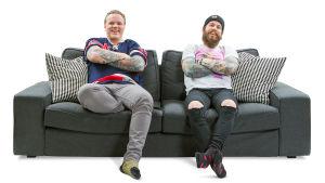 Sohvaperunat-sarjan neljäs tuotantokausi: Osku ja Juhani (Turku).