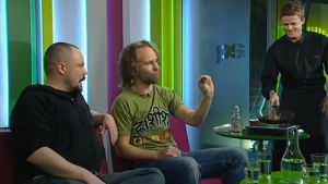 Riku Rantala ja Tunna Milonoff 2010.