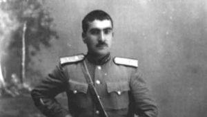 Den kurdiska självständighetskämpen Mustafa Barzani (1903-1979)