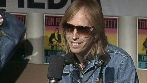 Tom Petty Amsterdamin Music & Media tapahtumassa 1989.
