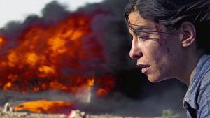 Nawalin salaisuus (Incendies) -elokuvan päähenkilö Nawal Marwan (Lubna Azabal).