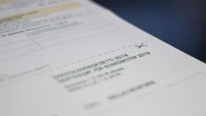 Ett skattekort för biinkomster.