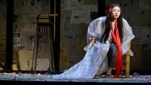Foto från Madame Butterfly på Nationaloperan.