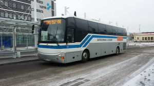 Bolaget Satakunnan Liikennes buss.