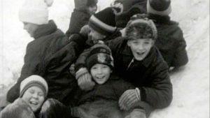 Lapsia talvella