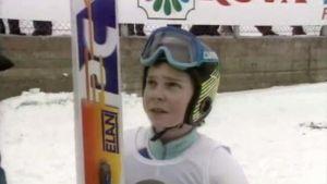 Janne Ahonen 14-vuotiaana