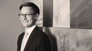 Aaron Kaartinen, analytiker på FIM