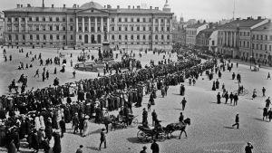 Valtiopäivien avajaiset 1907