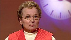 Vuorikiipeilijä ja seikkailija Tuula Nousiainen haastattelussa 1998.