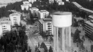 Vuosaari ilmakuvassa 1966