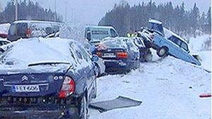 Liikennekaaos maaliskuussa 2005
