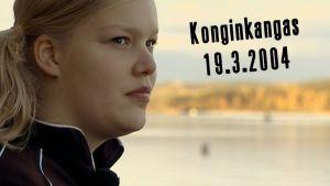 Jenni Piispanen oli yksi matkustajista, jotka selvisivät Konginkankaan turmasta 2004.