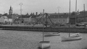 Oulun satama vuonna 1946.