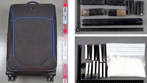Droger smugglades i kappsäckar