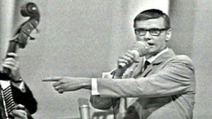 """Juha """"Watt"""" Vainio Muusikkojen liiton juhlakonsertissa 1968."""