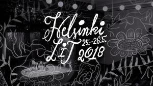 Helsinki Lit 2018 -festivaalin mainoskuva