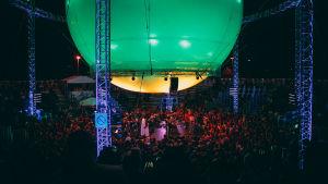 Flow Festivalin Balloon Stage