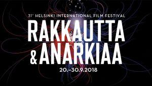 Rakkautta ja Anarkiaa -elokuvafestivaalin 2018 mainoskuva