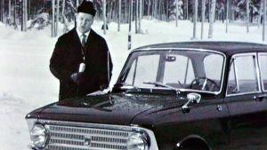 Moskvitsh Elite esittelyssä Moottoriruutu-ohjelmassa