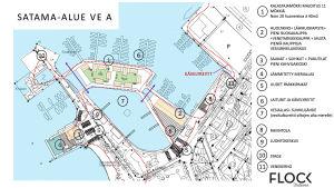 Företaget Flock Helsinki har gjort en idéplan för Norra hamnen och Stallörsparken i Ekenäs.