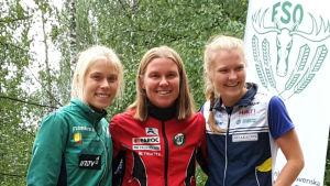 Alexandra Enlund, Yvonne Gunell, Katja von Schoultz