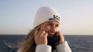 Mathilde Auvillain från SOS Méditerranée